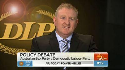 Australian sex party policy speech